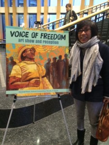 Meeting Voices of Freedom: The Fannie Mae Hamer Author and Illustrator