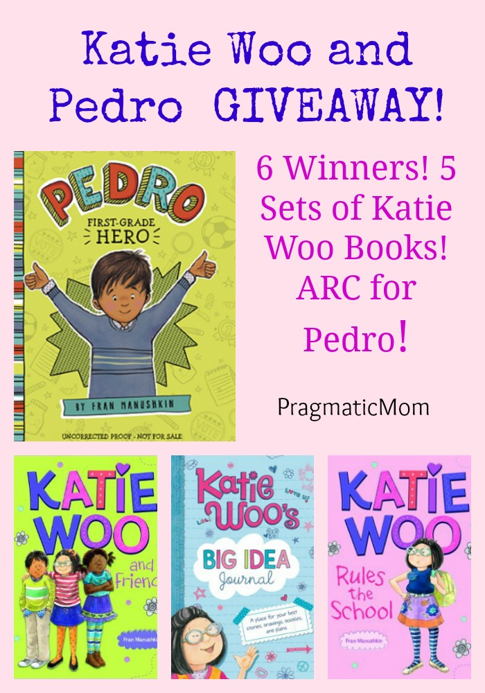 Katie Woo and Pedro Early Chapter Book GIVEAWAY!