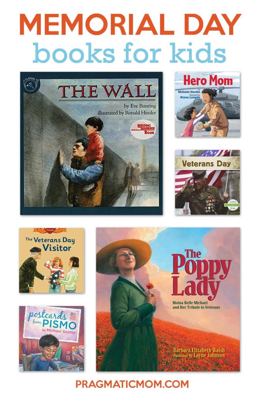 Memorial Day Books & Art Projects for Kids