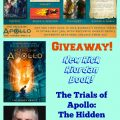 New Rick Riordan Book, The Trials of Apollo, the Hidden
