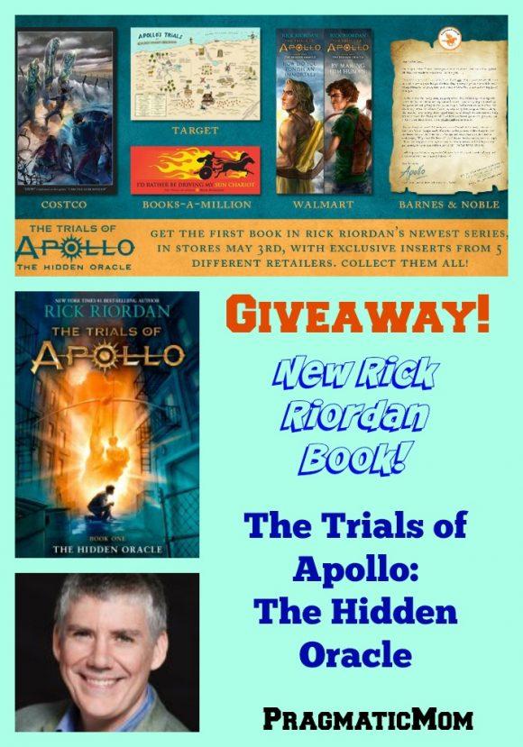 New Rick Riordan Book, The Trials of Apollo, the Hidden