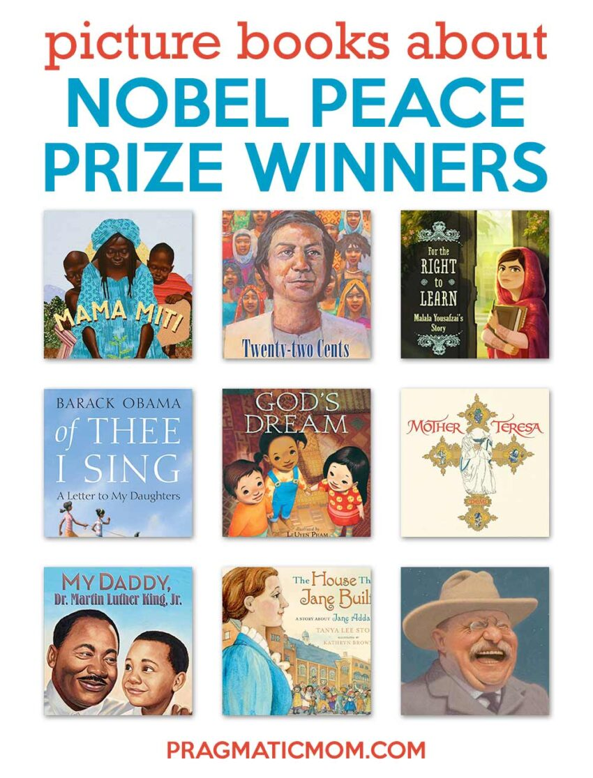 Great Picture Book Biographies of Nobel Peace Prize Winners