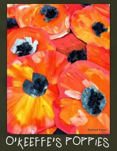 http://paintedpaperintheartroom.blogspot.com.au/2013/10/georgia-okeeffes-poppies.html