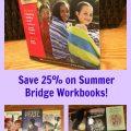 Save 25% on Summer Bridge Workbooks!