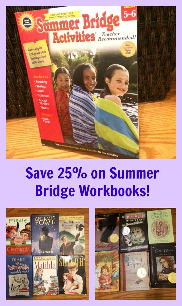 Save 25 on summer bridge workbooks pragmaticmom save 25 on summer bridge workbooks fandeluxe Choice Image
