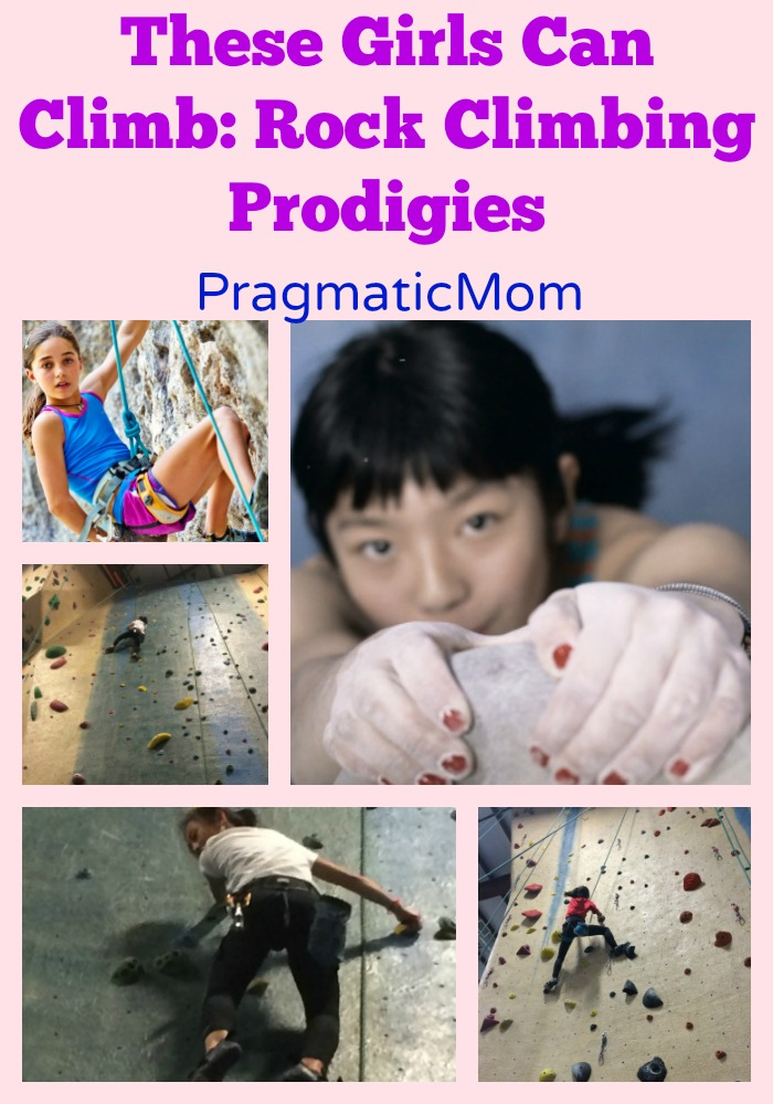 These Girls Can Climb: Rock Climbing Prodigies