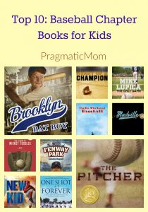 Top 10: Baseball Chapter Books for Kids
