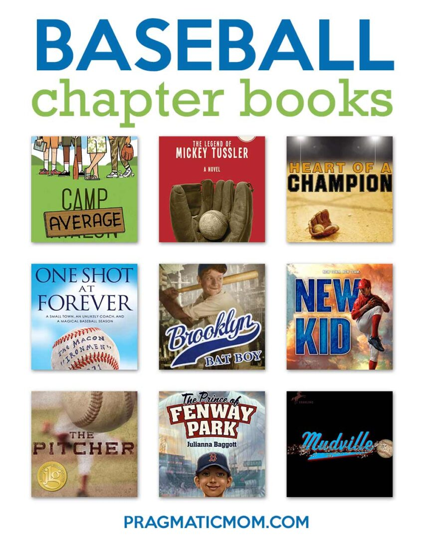 Baseball Chapter Books