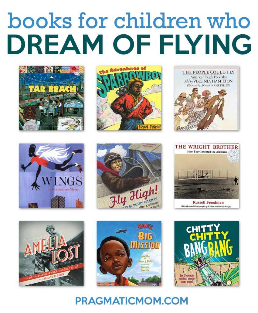 Books for Children Who Dream of Flying