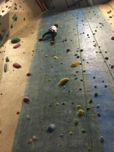 rock climbing tween girls