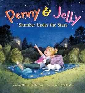 Penny and Jelly Slumber Under the Stars