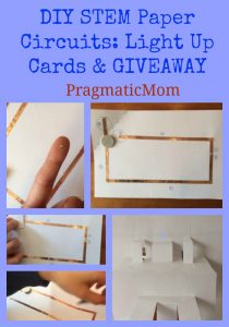 DIY STEM Paper Circuits: Light Up Cards & GIVEAWAY