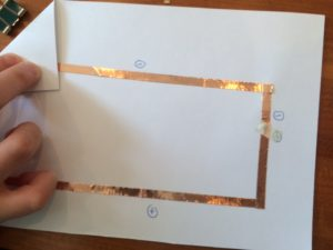 paper circuit light up card