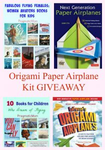 Origami Paper Airplane Kit GIVEAWAY
