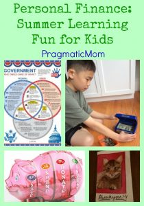 Personal Finance: Summer Learning Fun for Kids