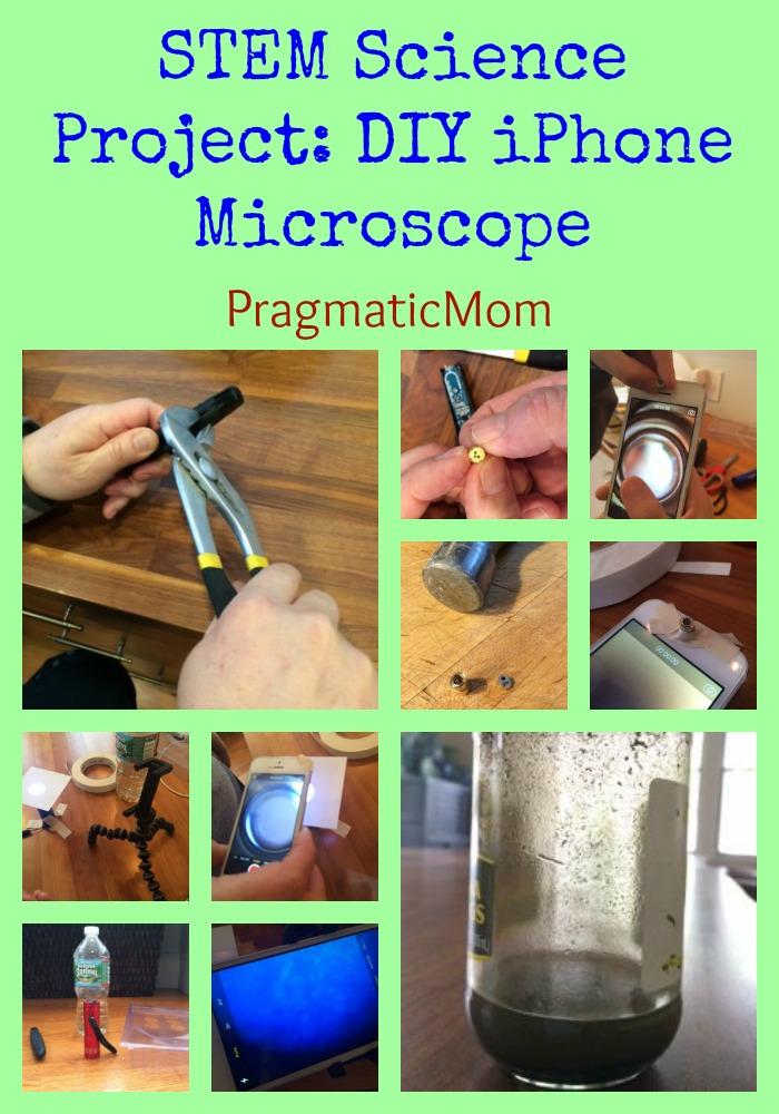 STEM Science Project: DIY iPhone Microscope