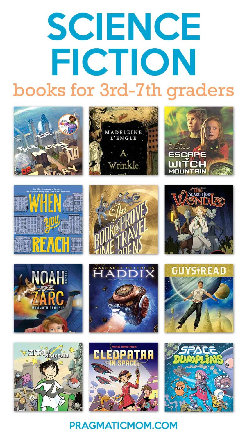Science Fiction for 3rd-7th Grade