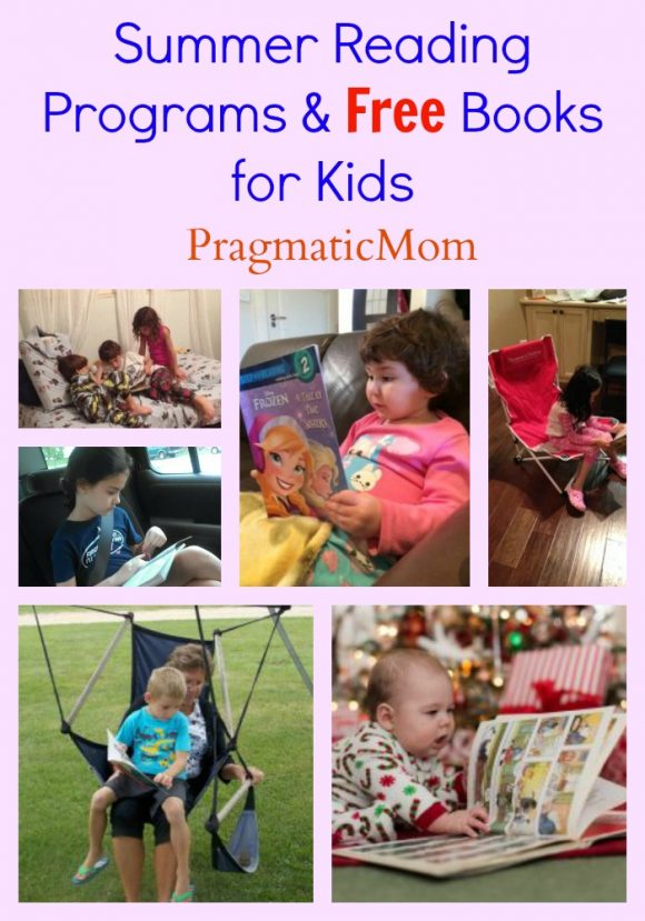 Summer Reading Programs & Free Books for Kids