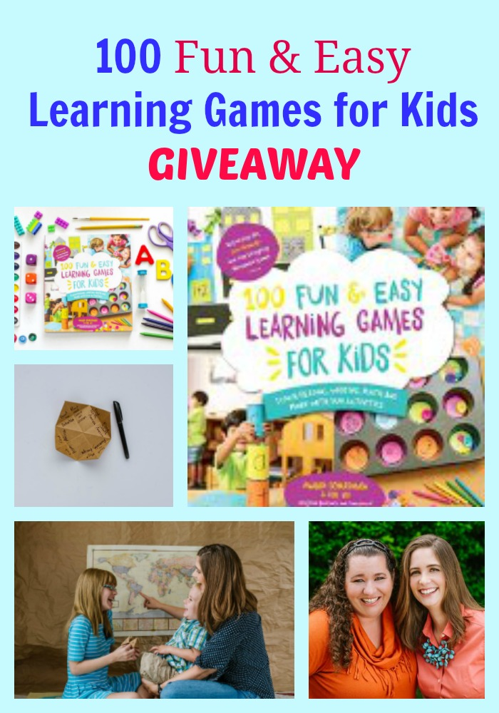 100 Fun & Easy Learning Games for Kids GIVEAWAY