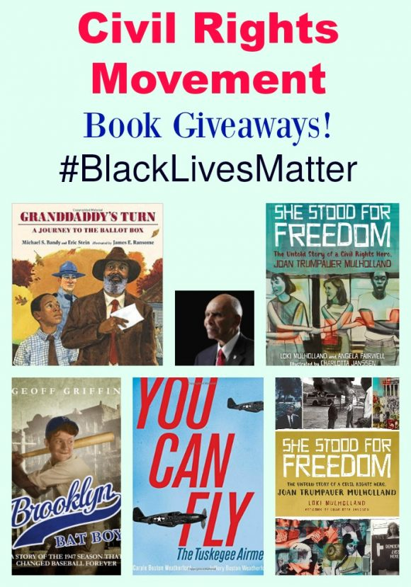 Civil Rights Movement Book Giveaways! #BlackLivesMatter
