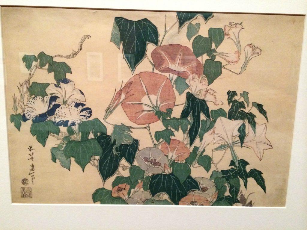 Hokusai flower painting 1