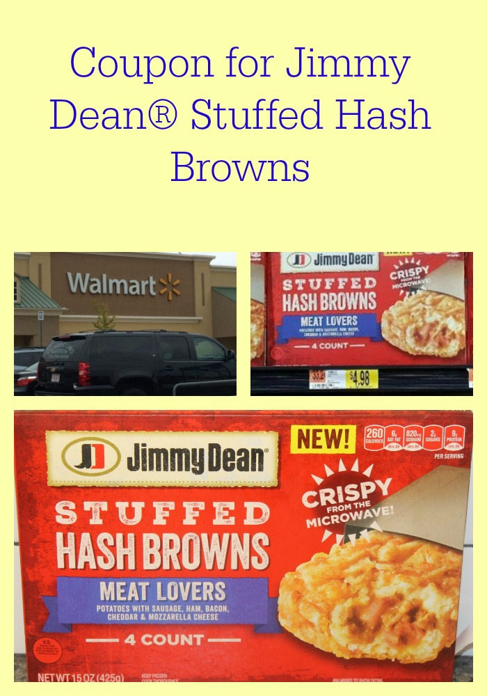 Coupon for Jimmy Dean® Stuffed Hash Browns