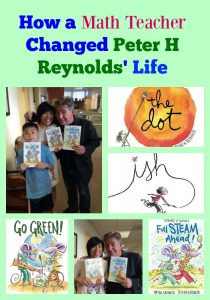 How a Math Teacher Changed Peter H Reynolds' Life
