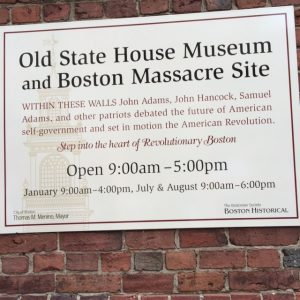 Old State House Museum and Boston Massacre Site