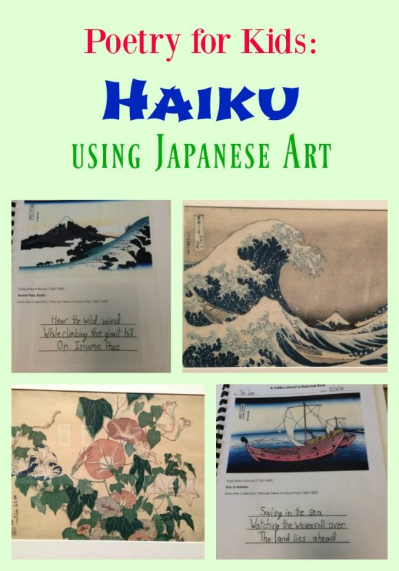 Poetry for Kids: Haiku using Japanese Art