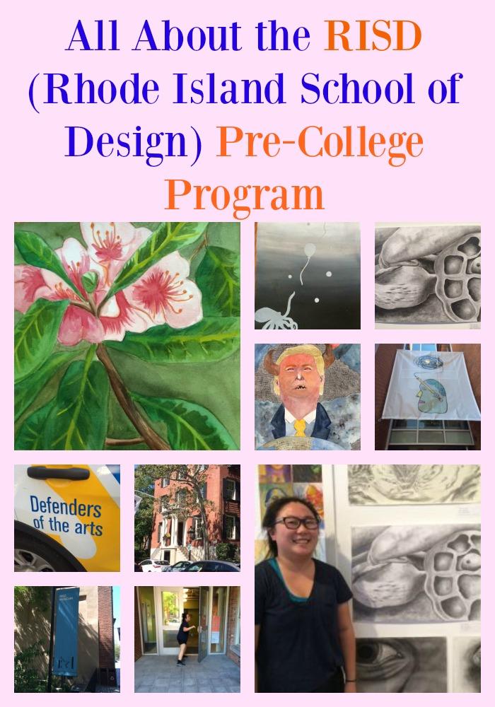 RISD Precollege Program Summer 2016