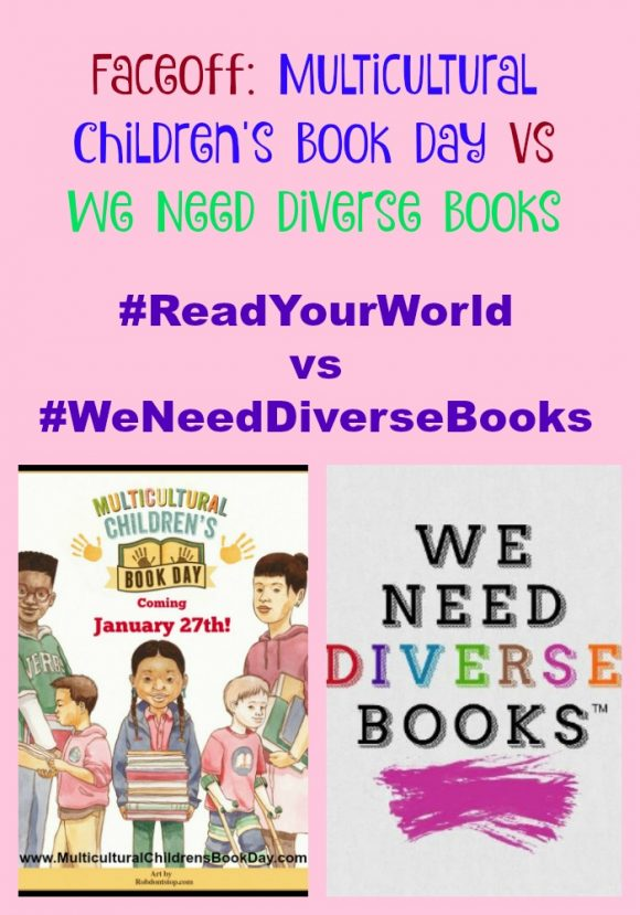 #ReadYourWorld vs #WeNeedDiverseBooks
