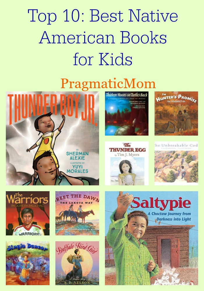 Top 10: Best Native American Books for Kids