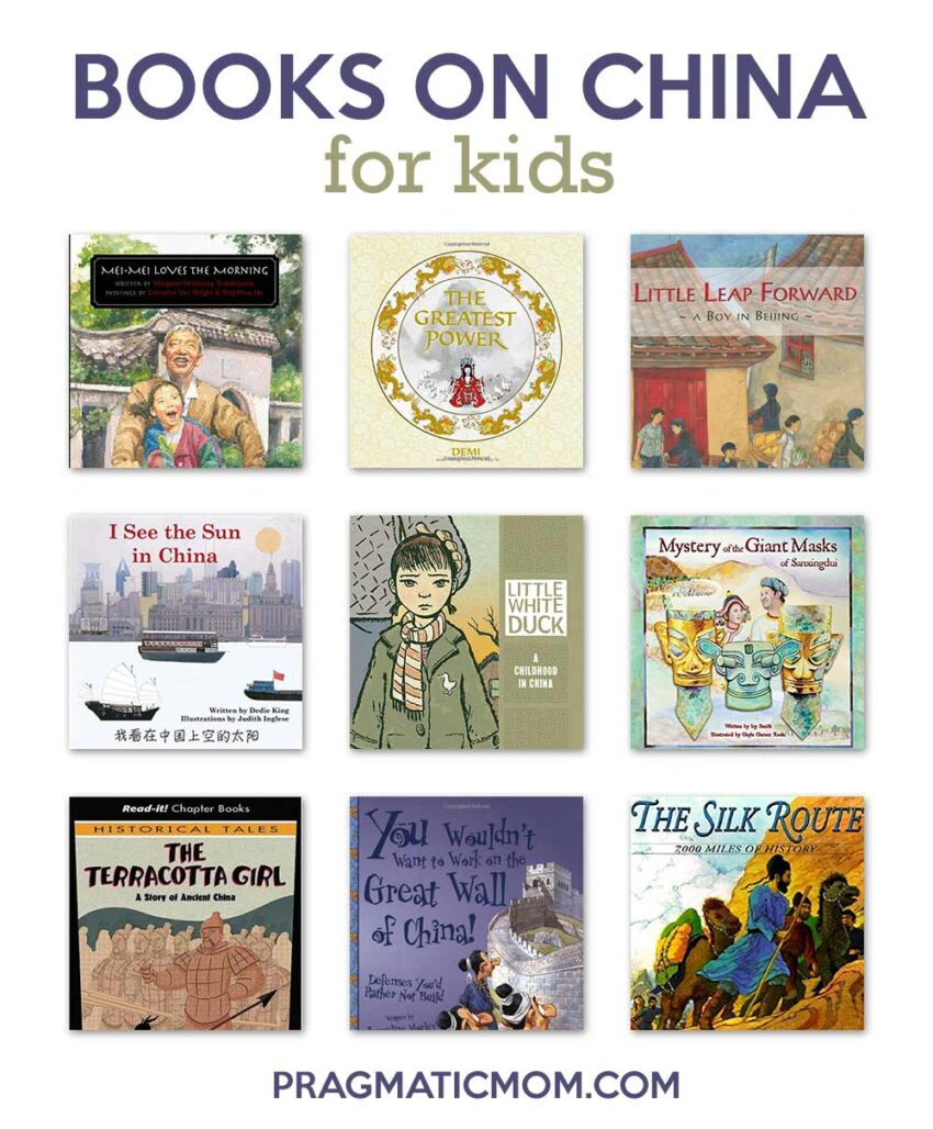 Great Books on China for Kids
