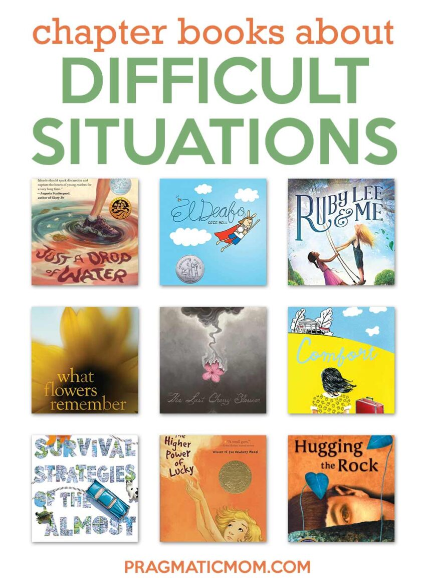 Chapter Books for Difficult Situations