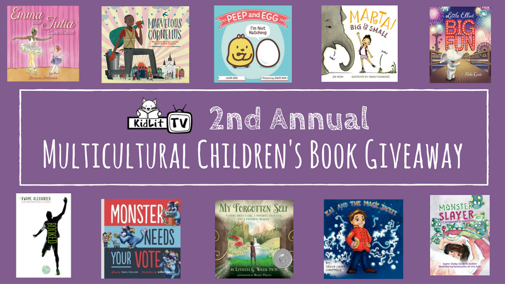 Multicultural Children's Book Bundle Giveaway