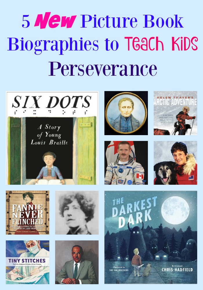 5 New Picture Book Biographies To Teach Kids Perseverance