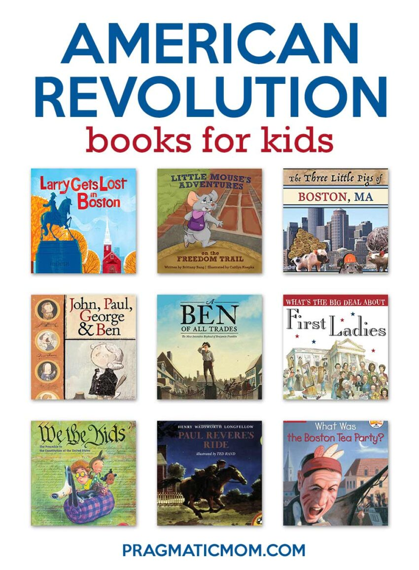 American Revolution Books For Kids Boston Freedom Trail Guide Pragmatic Mom