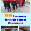 FREE Resources for High School Coxswains