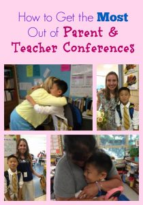 How to Get the Most Out of Parent & Teacher Conferences