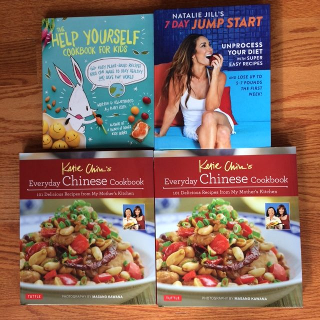 Four Cookbook giveaway