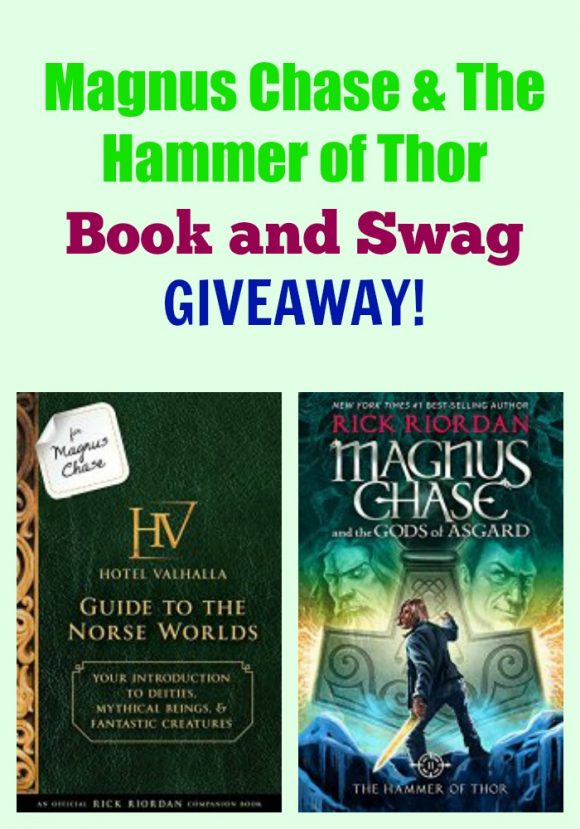 Magnus Chase & The Hammer of Thor GIVEAWAY!