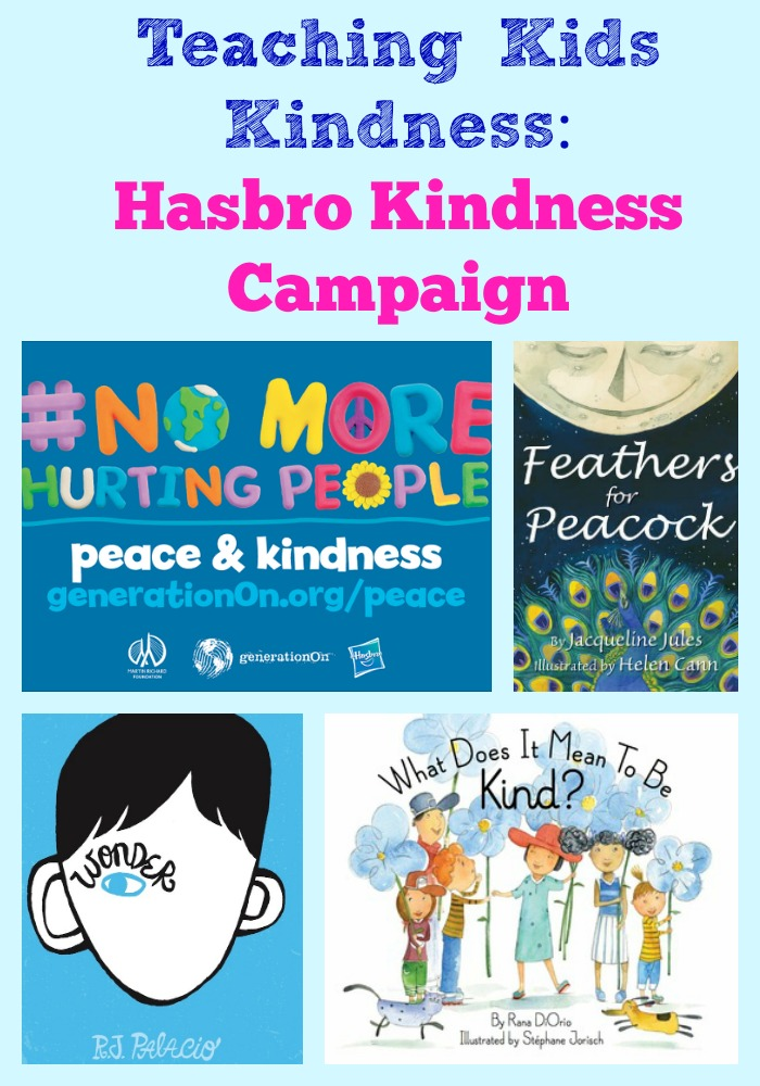 Teaching Kids Kindness: Hasbro Kindness Campaign