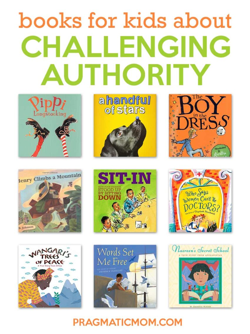 Books For Kids That Challenge Authority