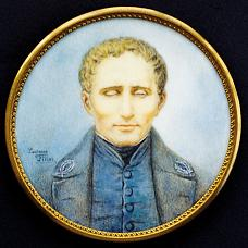 young Louis Braille