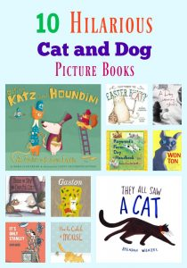 10 Hilarious Cat and Dog Picture Books