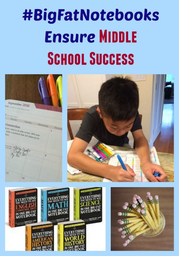#BigFatNotebooks Ensure Middle School Success