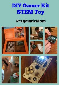 http://www.pragmaticmom.com/2015/11/diy-gamer-kit-stem-toy/