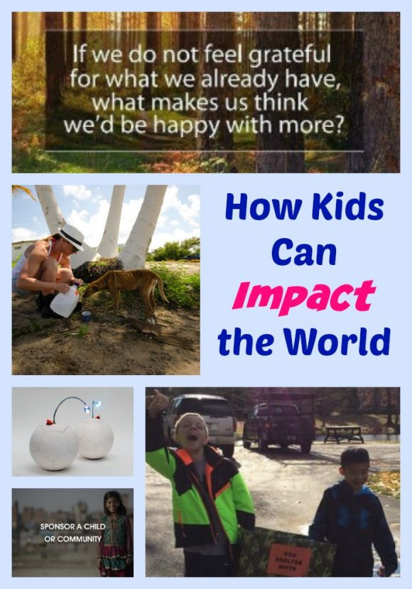 How Kids Can Impact the World