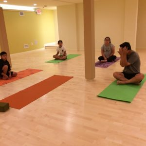 Our Family Yoga Class