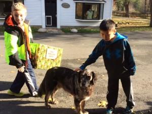 kids donate birthday gifts to charity